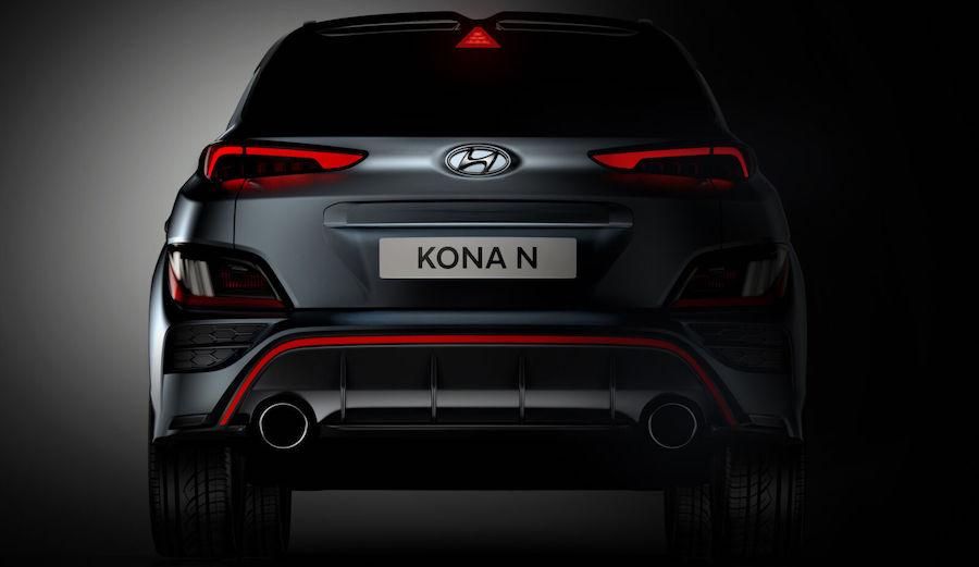Motore di Hyundai Kona N