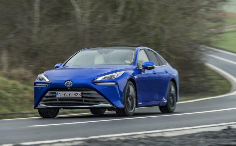 Nuova Toyota Mirai 2021
