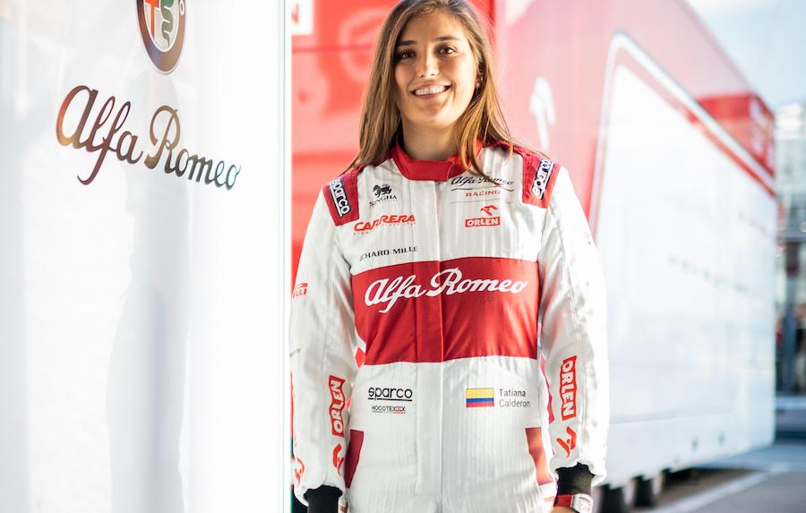 Tatiana Calderon Alfa Romeo