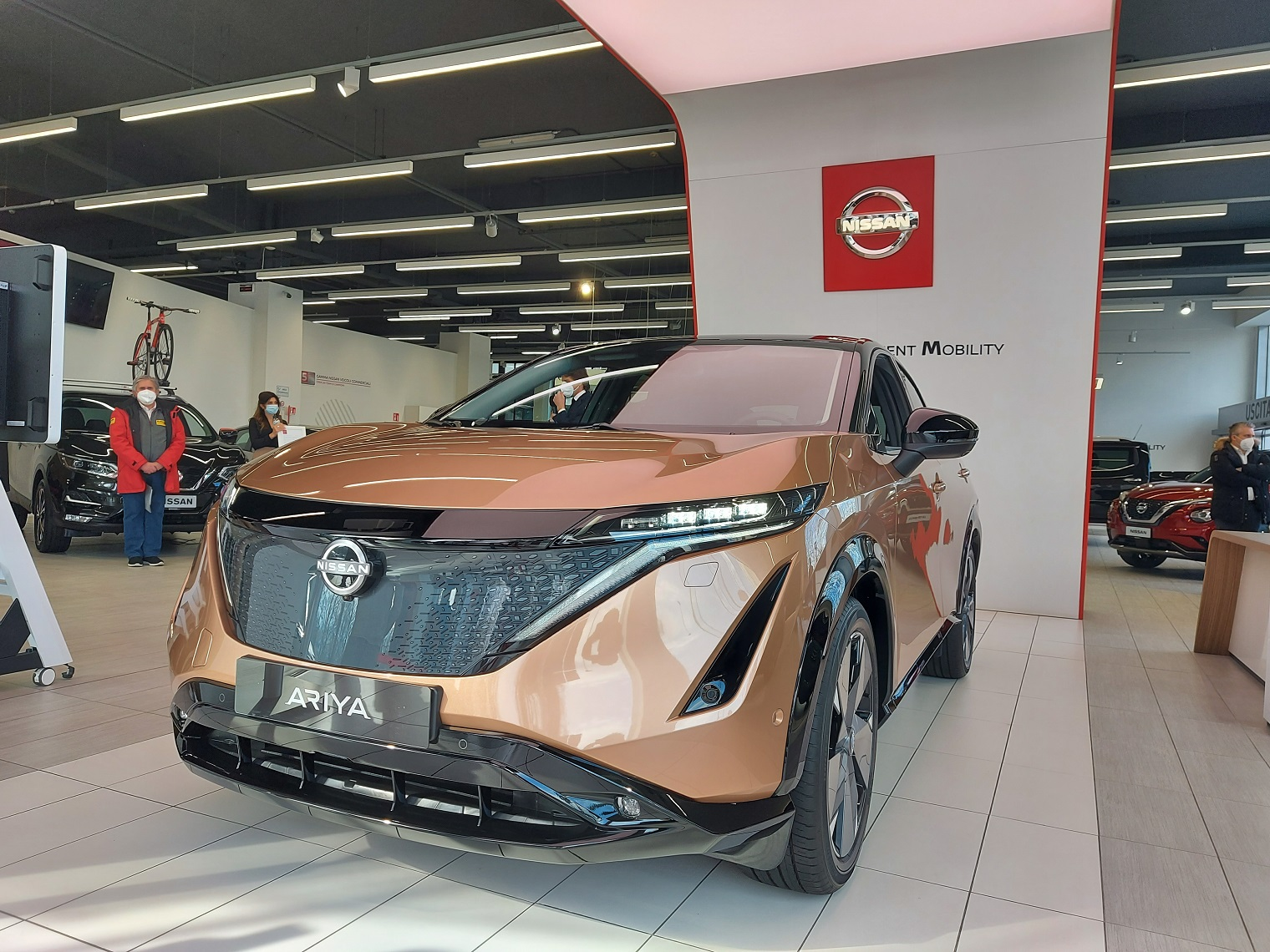 nuova Nissan Ariya 2021