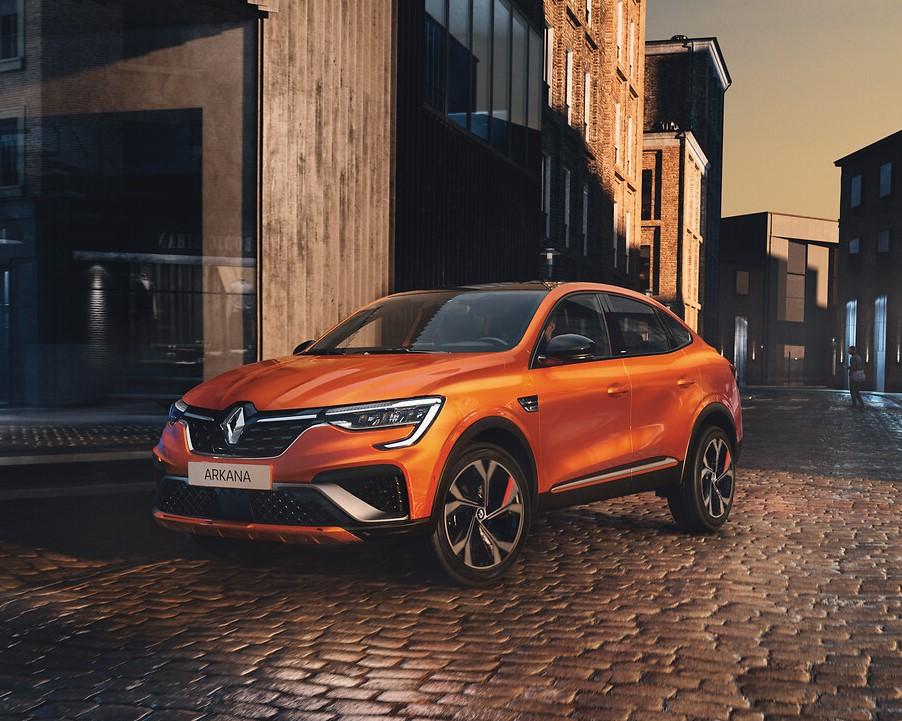 nuovo Renault Arkana 2021