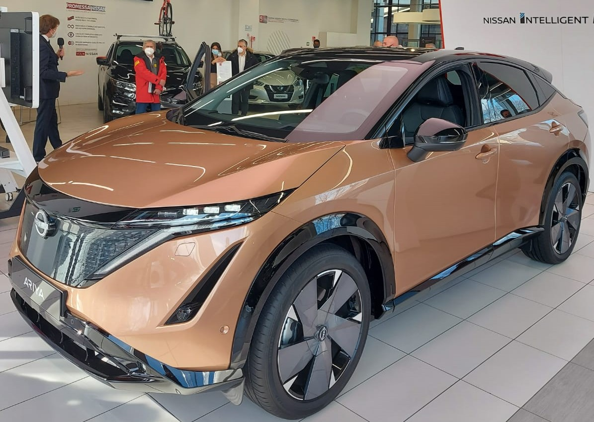 presentazione nuova Nissan Ariya 2021