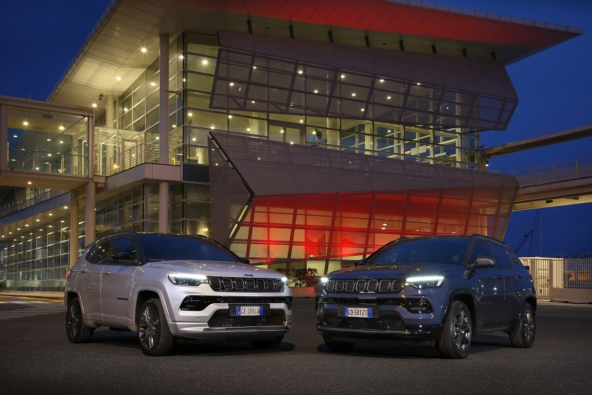1. New Jeep® Compass S 4xe and 80th Anniversary