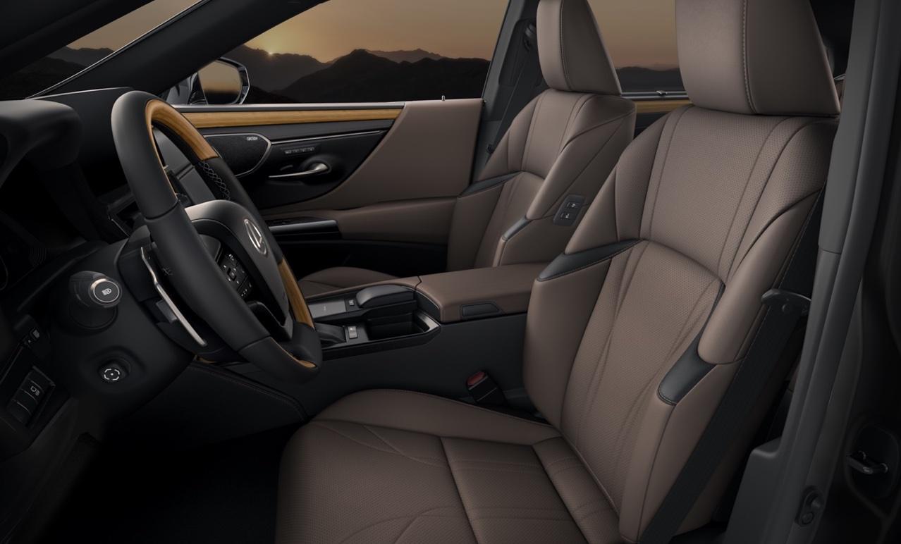 Adas di Lexus ES restyling
