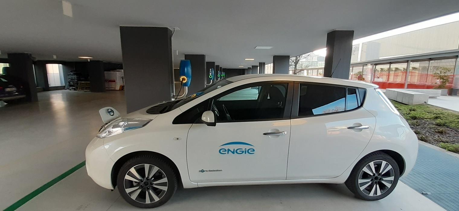 Auto elettrica Engie