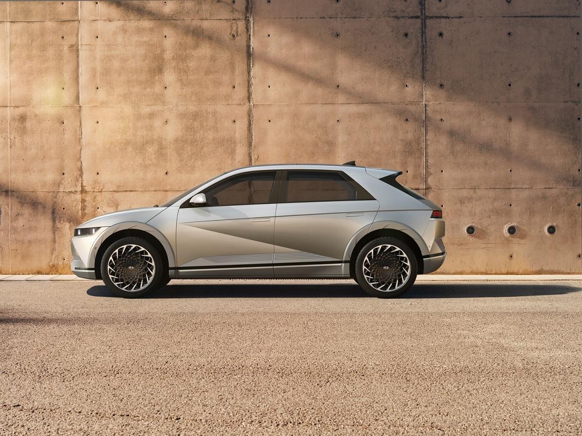 Esterni nuova Hyundai Ioniq 5