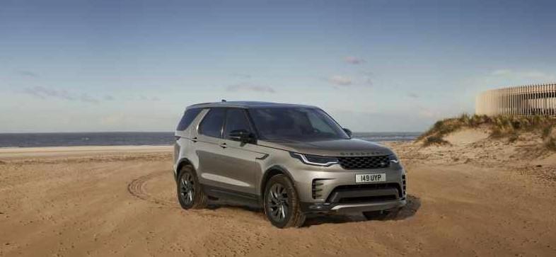 Esterni nuova Land Rover Discovery