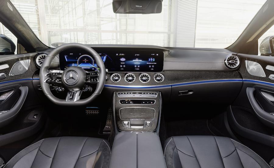 Interni di Mercedes CLS 2021 restyling