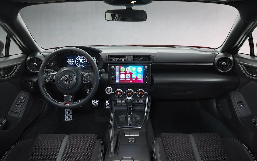 Interni di Toyota GR86