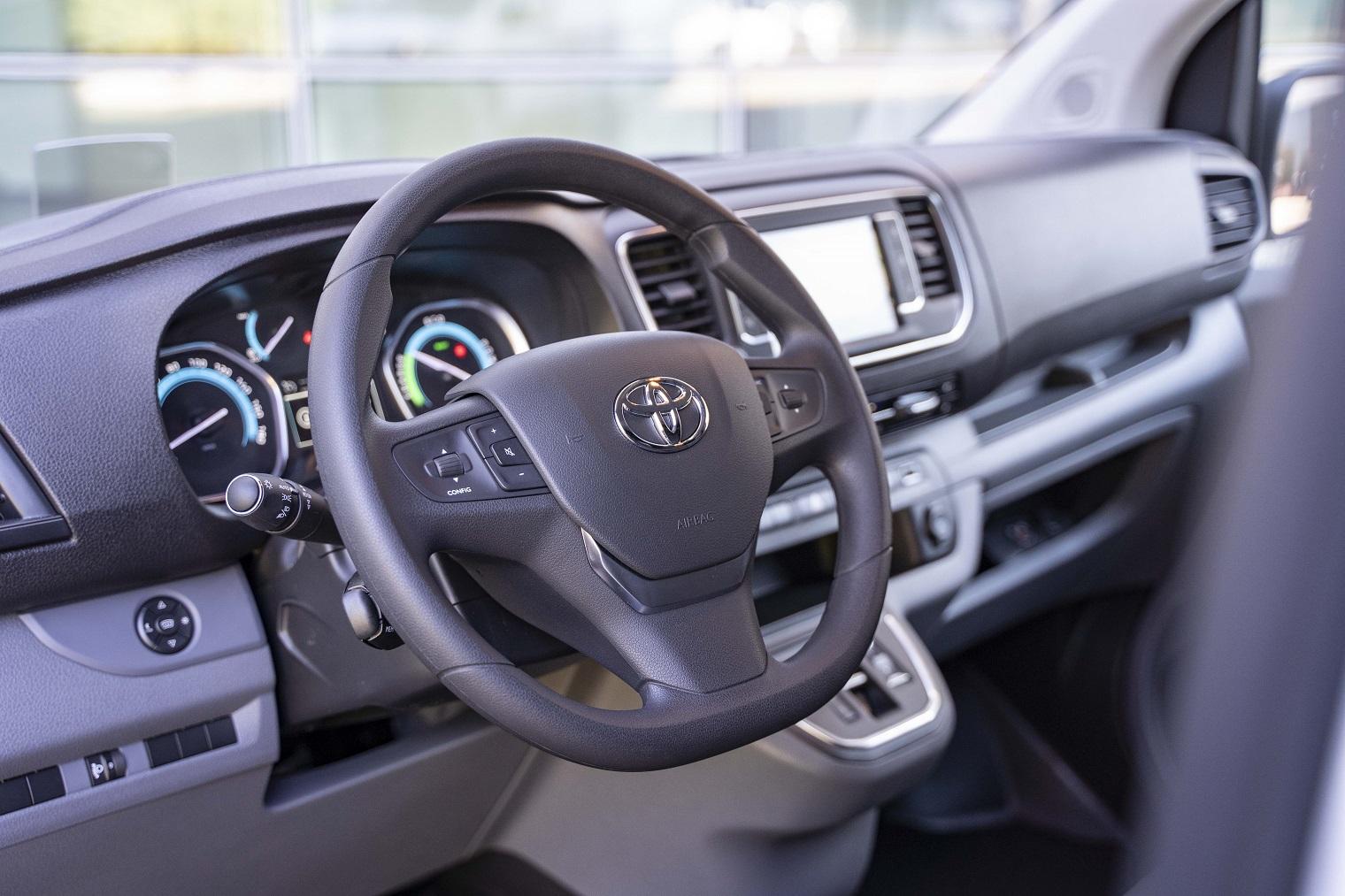 Interni nuovo Toyota Proace Electric
