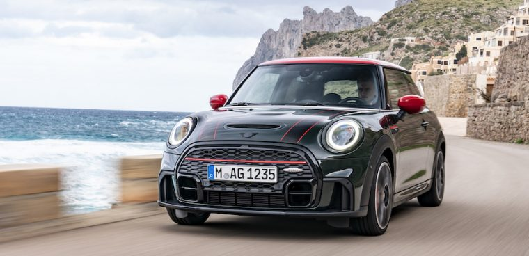 MINI John Cooper Works 2021 facelift