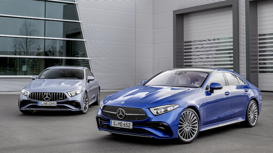 Mercedes CLS restyling 2021