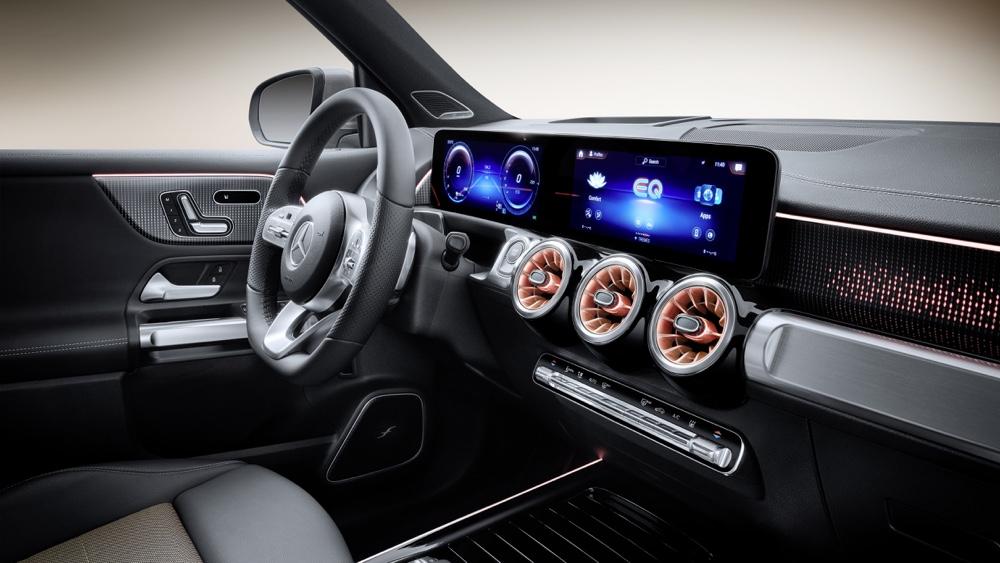 Mercedes EQB MBUX