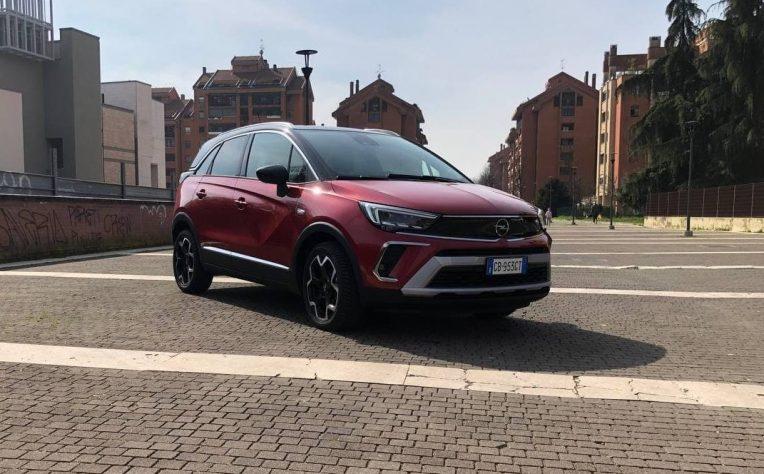 Nuova Opel Crossland test drive