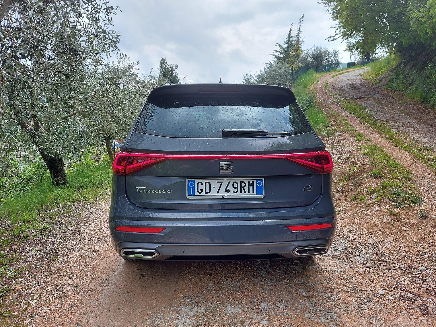 Posteriore nuova Seat Tarraco e-Hybrid