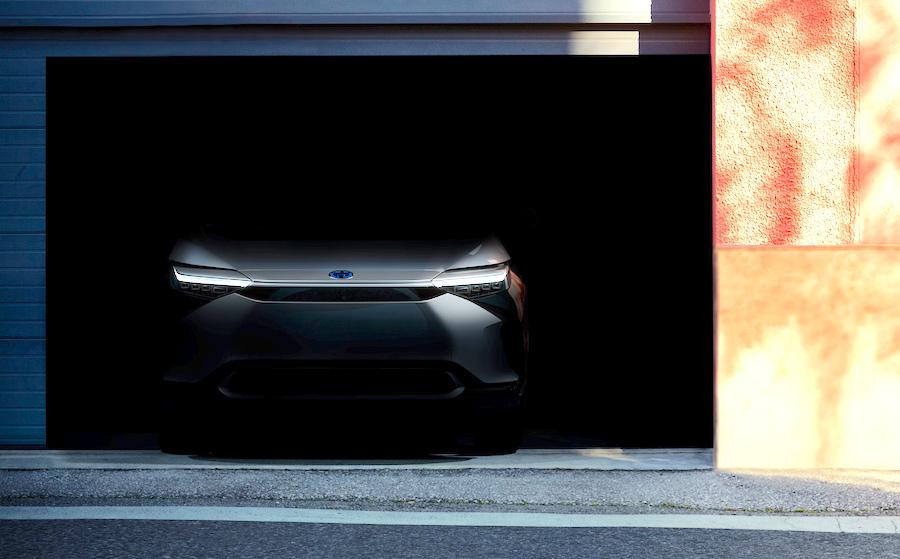 Toyota BZ elettrico