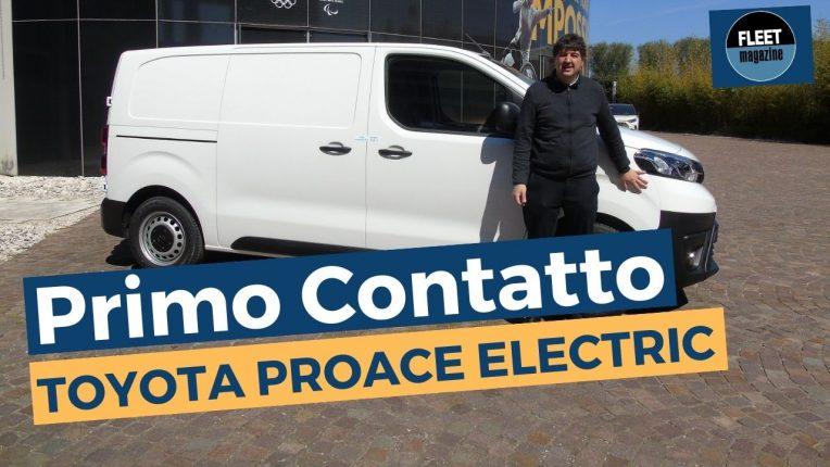 Toyota Proace Electric 2021 primo contatto