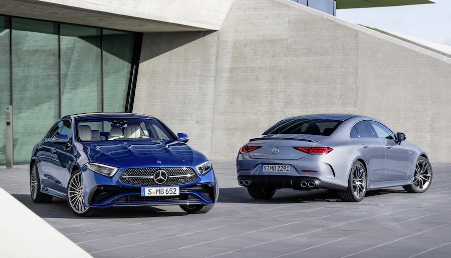 Uscita di Mercedes CLS Coupe 2021