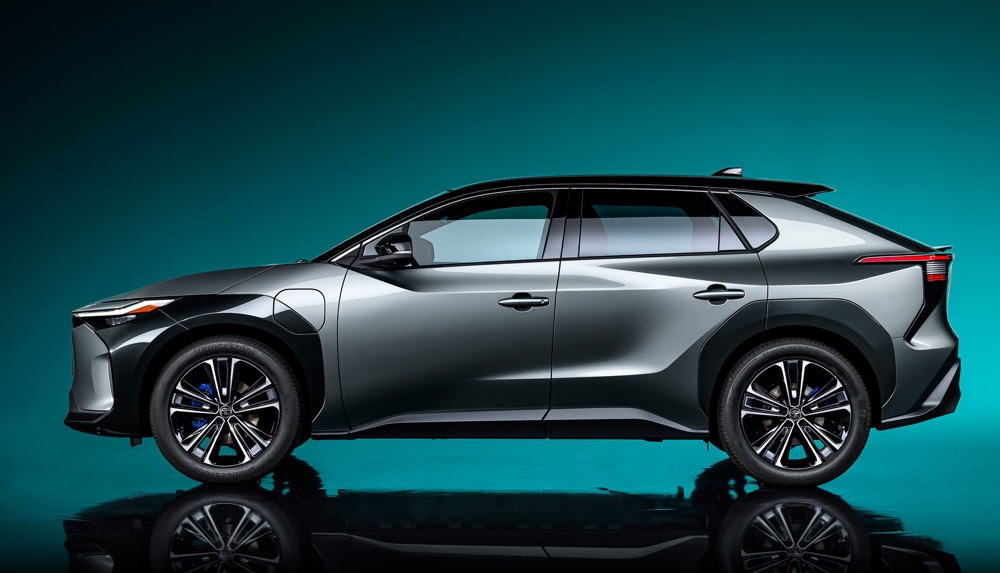 dimensioni di Toyota bZ4X Concept