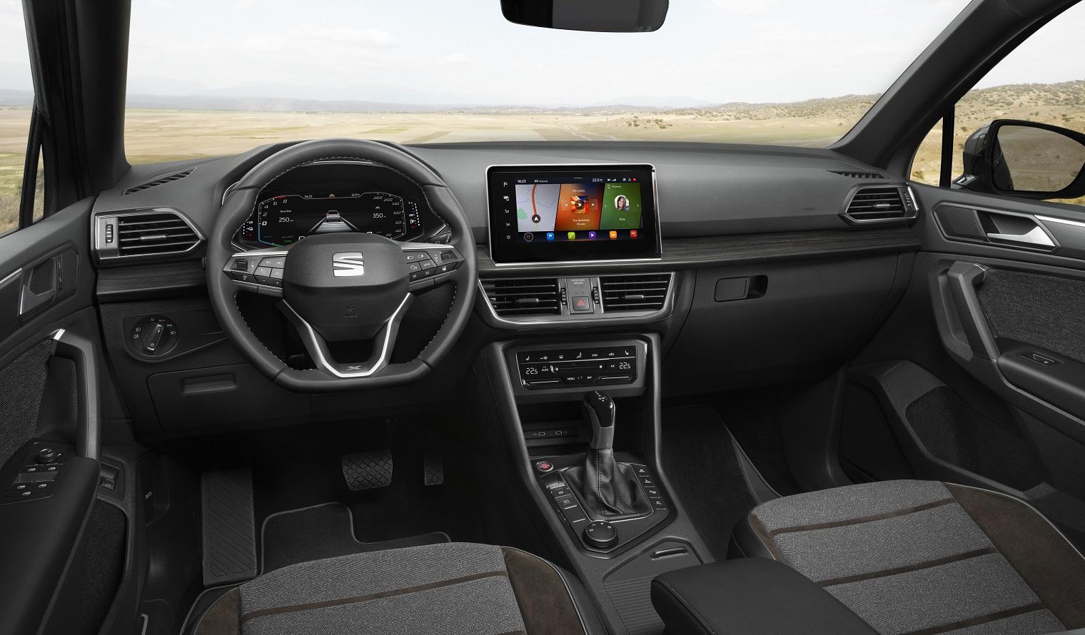 interni nuova Seat Tarraco e-Hybrid