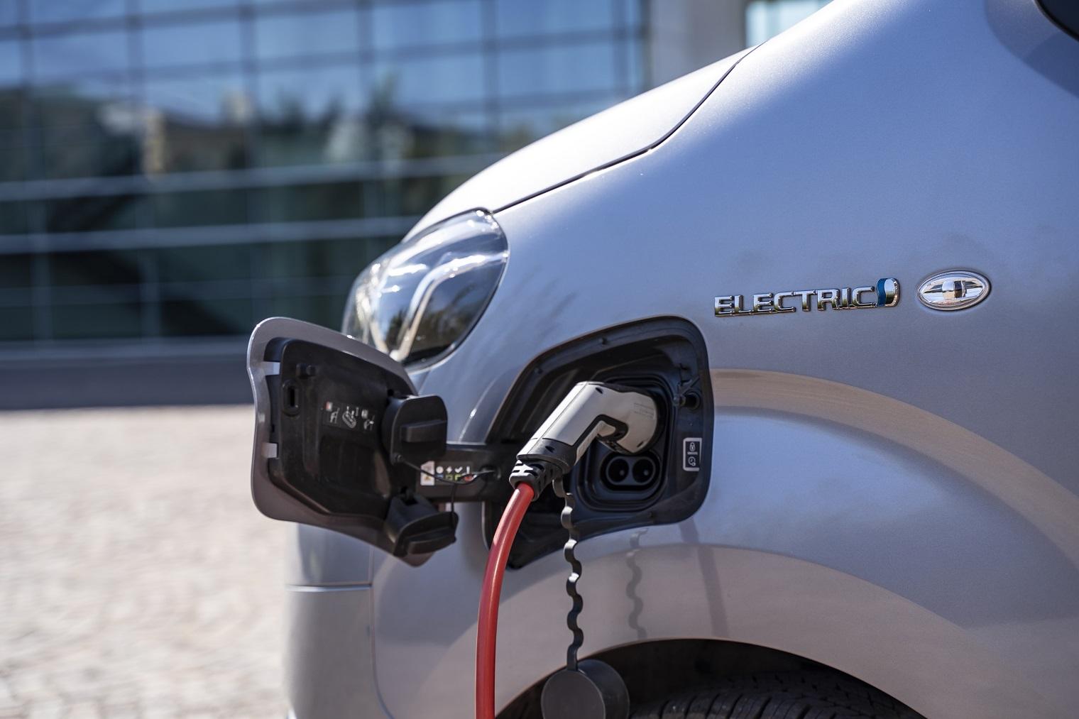 nuovo Toyota Proace Electric 2021 ricarica