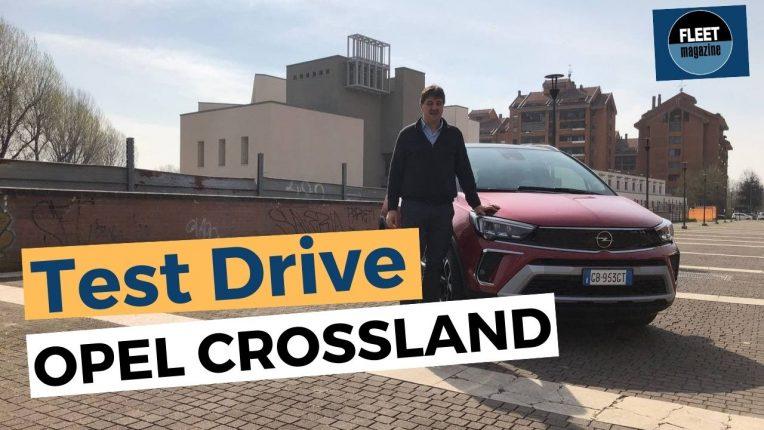 test drive nuova Opel Crossland