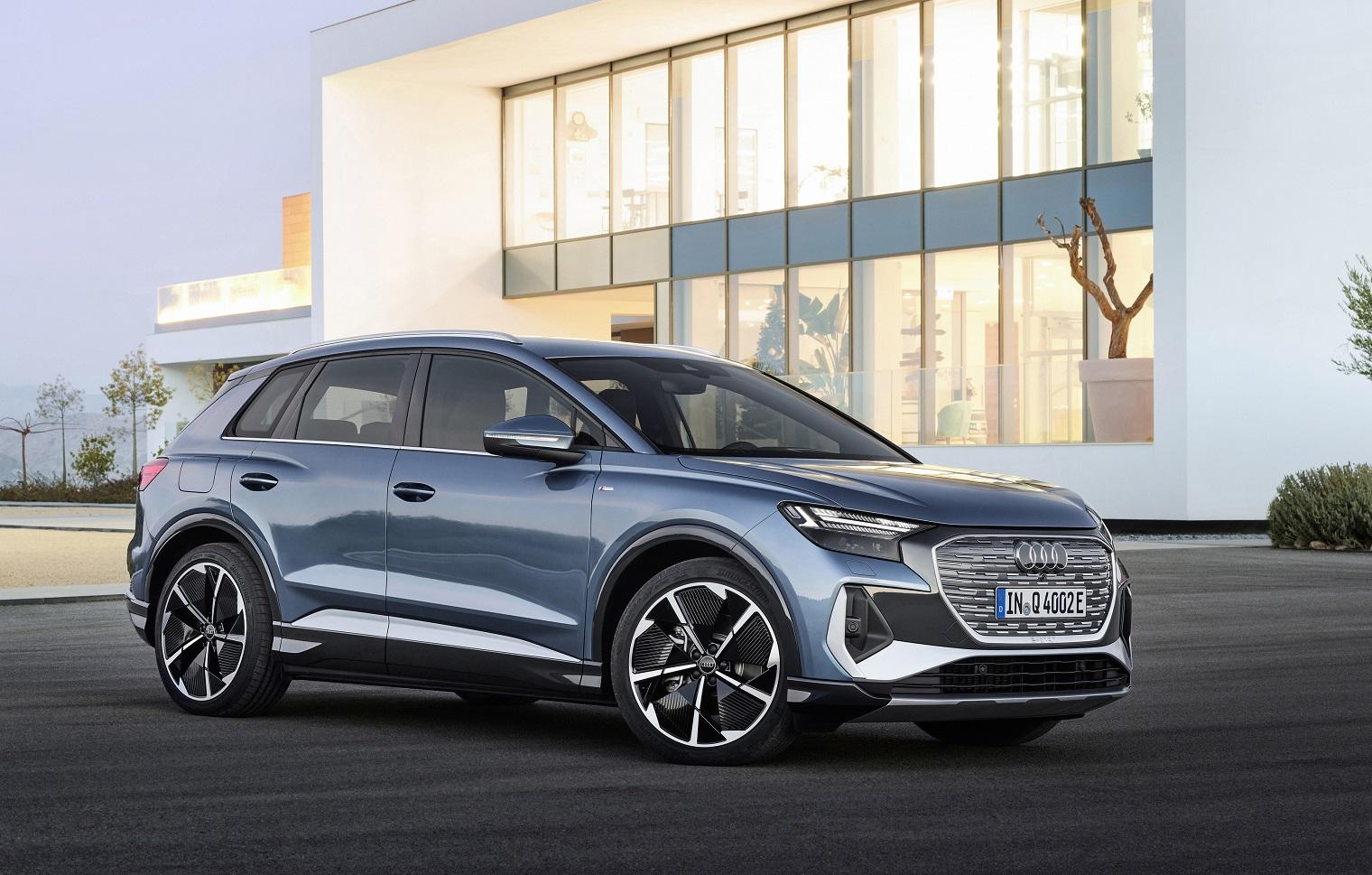 Esterni nuova Audi Q4 e-tron