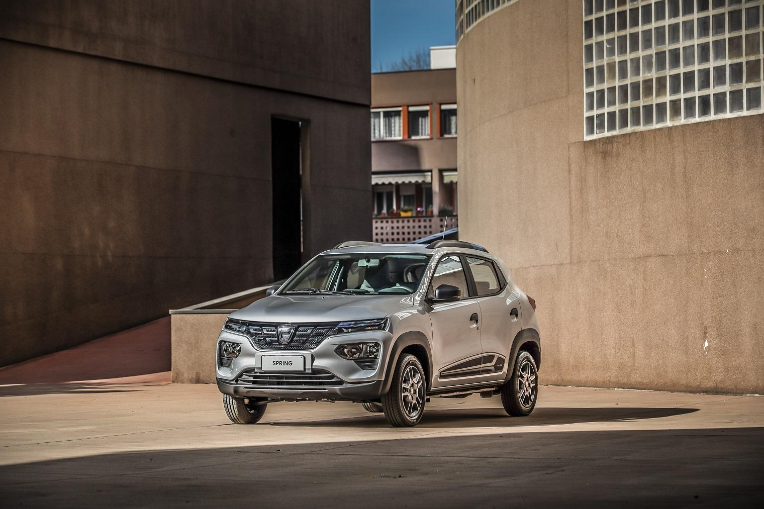 Nuova Dacia Spring 2021