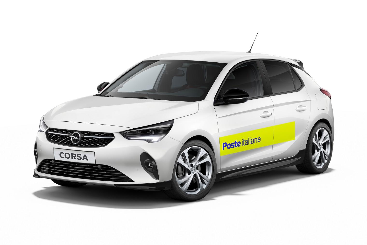 Opel Corsa-e Poste Italiane
