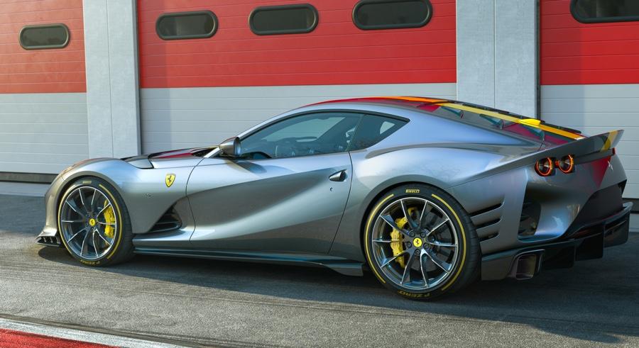 Prestazioni di Ferrari 812 Competizione