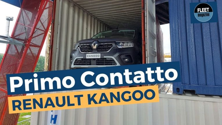 Primo contatto nuovo Renault Kangoo