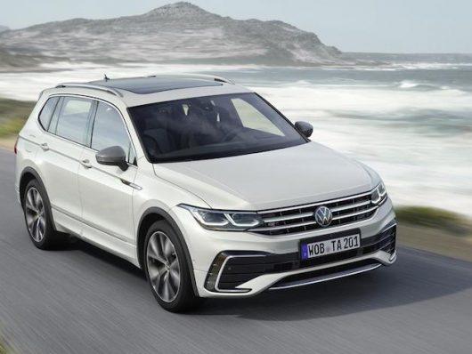 Volkswagen Tiguan Allspace restyling 2021