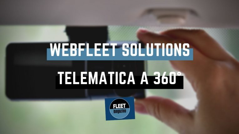 Webfleet Solutions telematica flotte aziendali