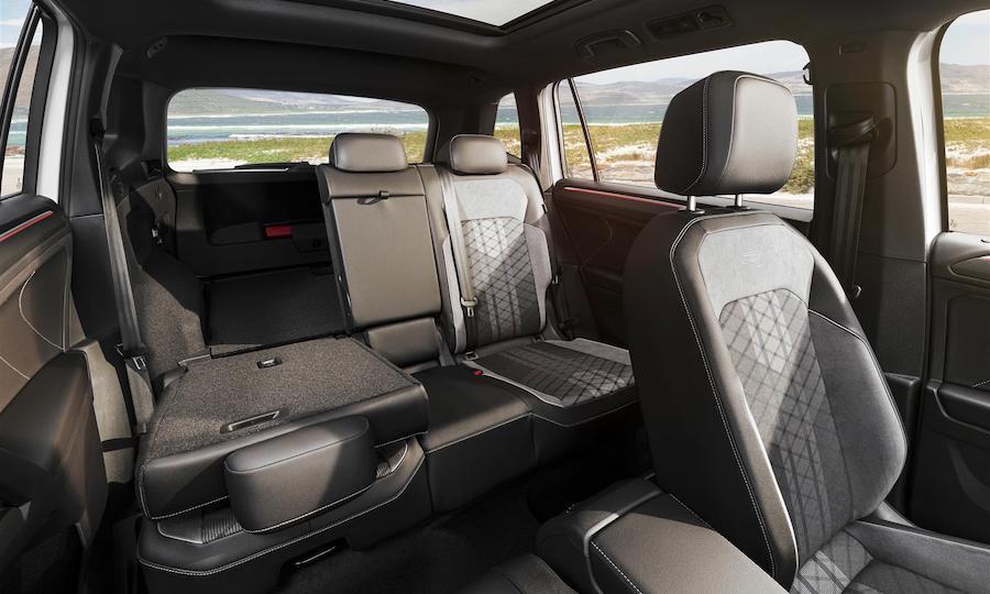 bagagliaio Volkswagen Tiguan Allspace 2021
