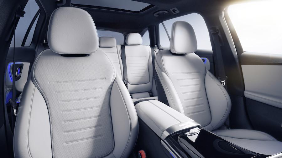 Interni di Mercedes Classe C 2021