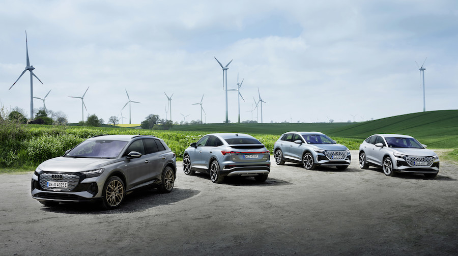 Audi solo elettrica dal 2033