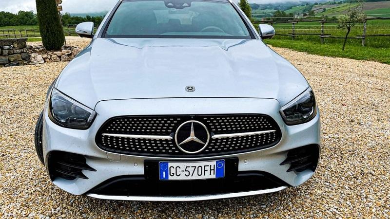 Lancio nuova Mercedes Classe E