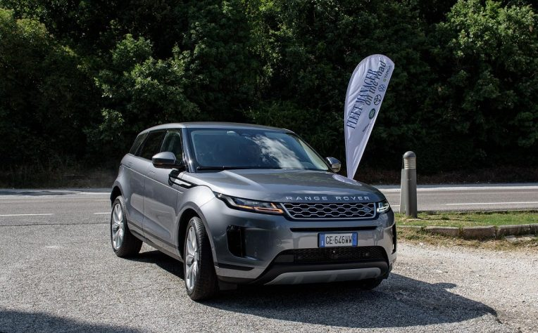 Land Rover Range Rover Evoque Phev Fleet Manager on the Road 2021