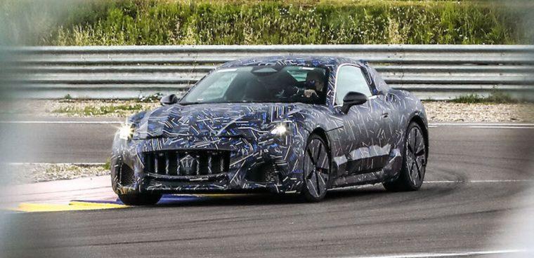 Maserati Granturismo elettrica 2021