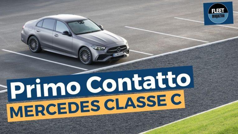 Nuova Mercedes Classe C 2021 test drive
