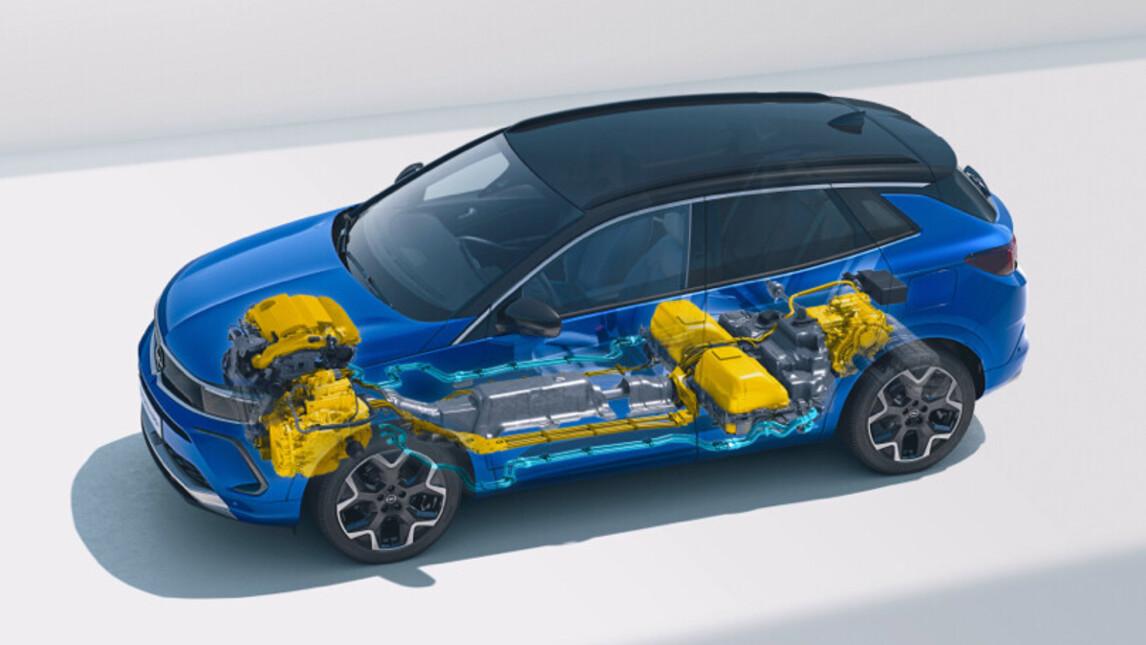Opel Grandland Hybrid 2021