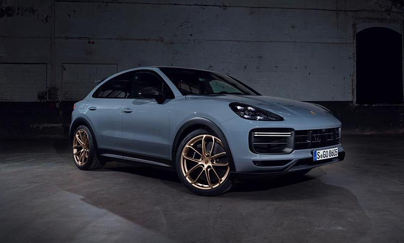 Porsche cayenne coupe turbo gt