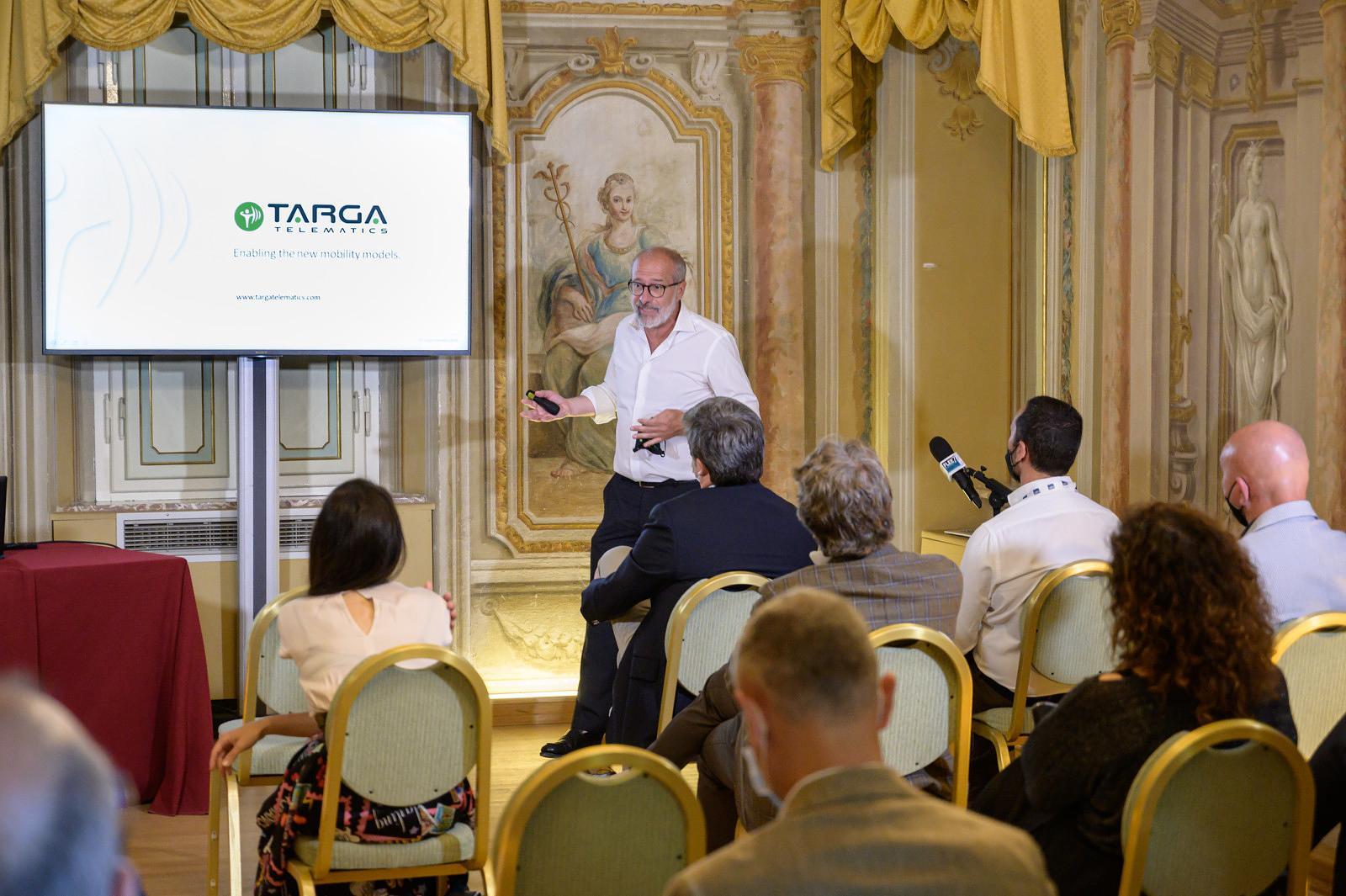Targa Telematics conferenza Fleet Manager on the Road 2021