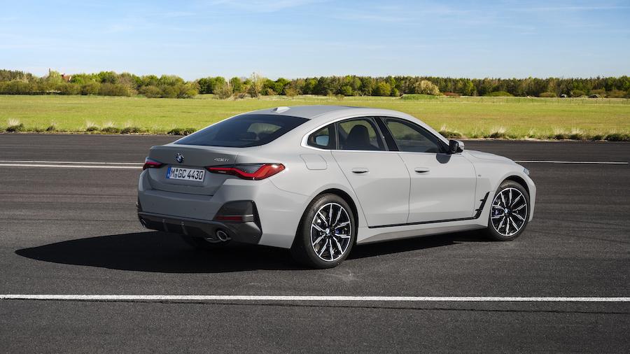 Uscita di BMW Serie 4 Gran Coupe