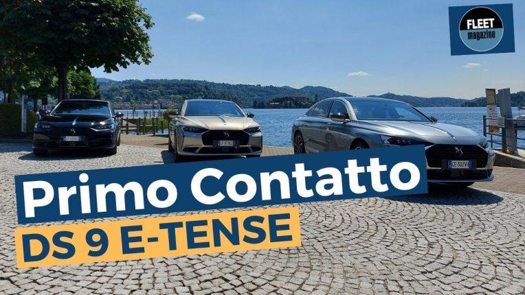 nuova DS 9 E-Tense test drive