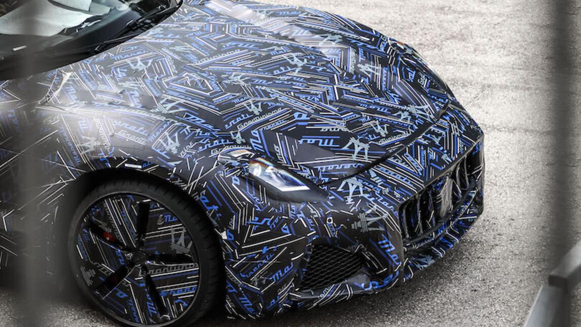 uscita di Maserati Granturismoelettrica