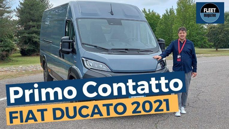 Primo contatto nuovo Fiat Ducato 2021