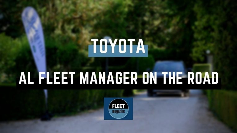 Toyota Fleet Manager on the Road 2021