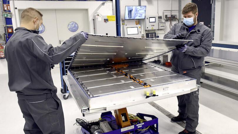 fabbricazione batterie Gigafactory