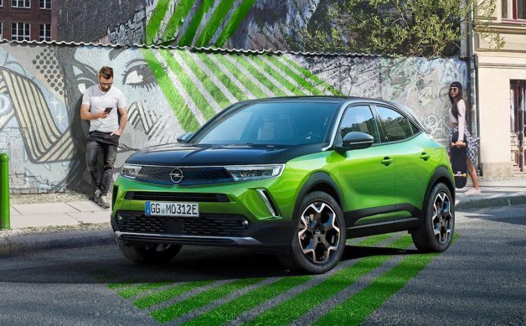 frenata rigenerativa Opel Mokka-e